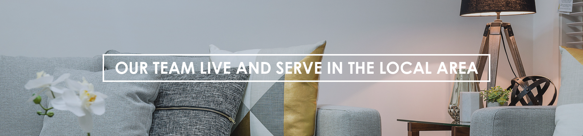 Live and serve banner