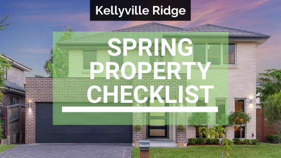 Spring Property Checklist for Kellyville Homes