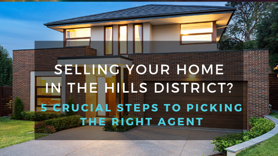 Selling Your Home In The Hills District?